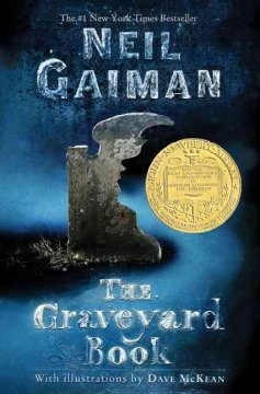 """<b><p style=""""color:blue"""">October Book Discussion- <i>The Graveyard Book</i> by Neil Gaiman </p></b> @ Adams Free Library"""